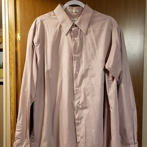 Mens long sleeve Van Heusen 2XL dress shirt